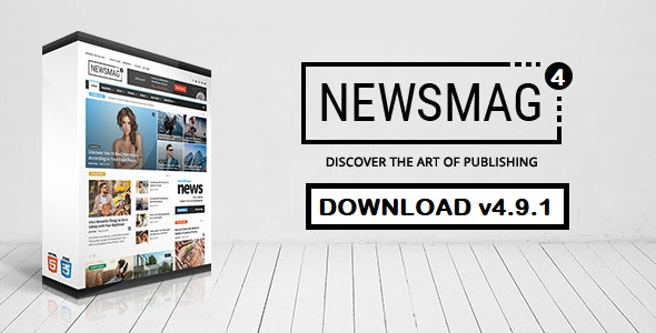 NewsMag v4.9.1 Free GPL Wordpress Theme Download - News Magazine