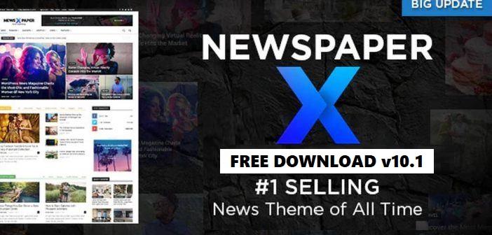 Newspaper v10.1 Nulled Free - WordPress News Template