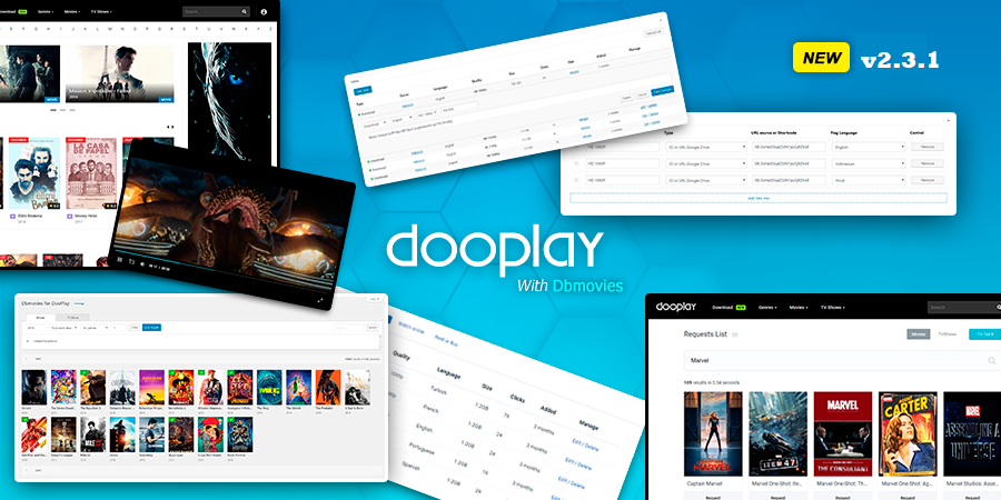 Download Free DooPlay v2.3.1 – WordPress Theme for Movies and Tv Shows