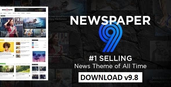 Newspaper 9.8 Premium WordPress Theme Free Download -License GPL