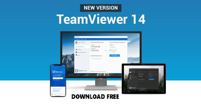 TeamViewer 14 Download For Remote Access -Desktop/Laptop