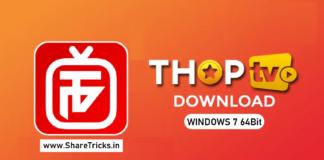 ThopTv v27 Live Tv Application For Windows 7 64Bit Free Download