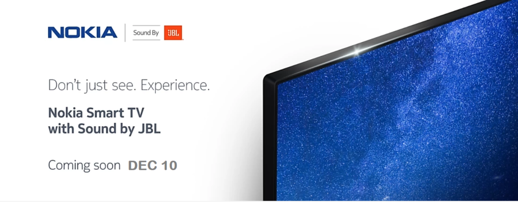 Nokia Launch 1st Smart TV 55-inch 4K UHD in India [2020]