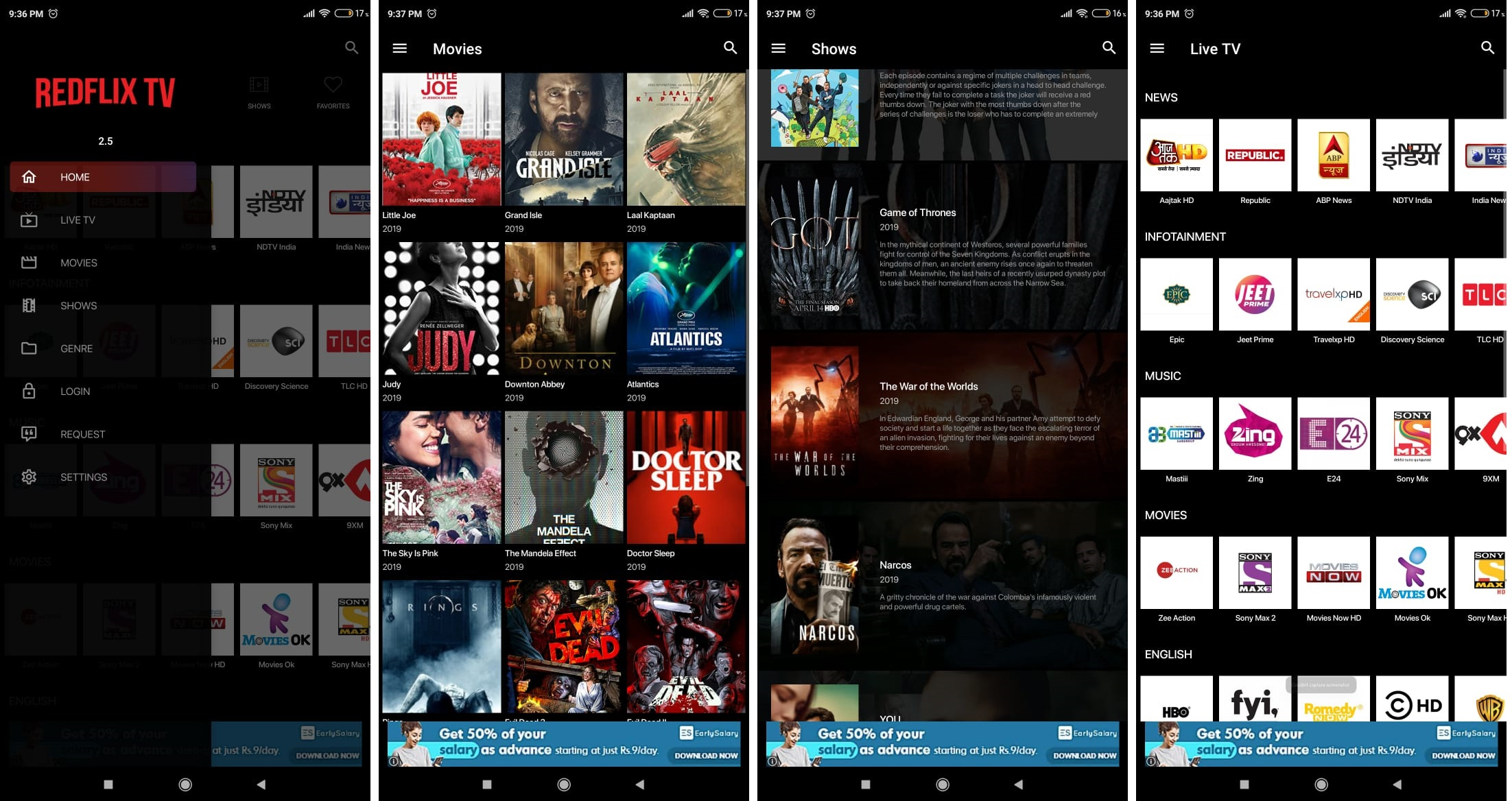 Redflix TV APK 2.5 Download For Android {2019}
