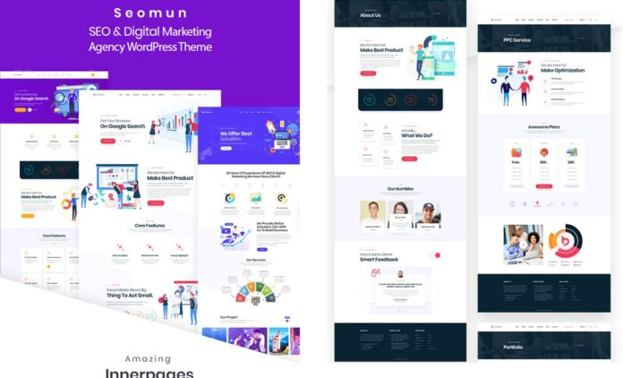 Seomun v1.0.3 - Digital Agency & Marketing WordPress Theme Download