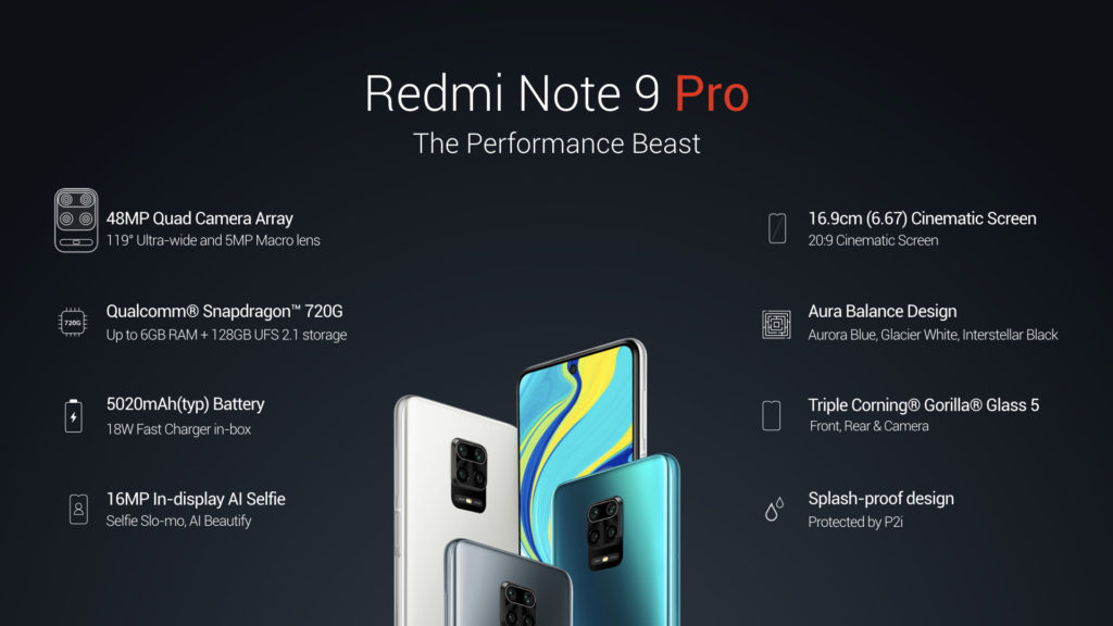 Redmi Note 9 Pro Phone Specification Performance Beast | Price ₹12,999