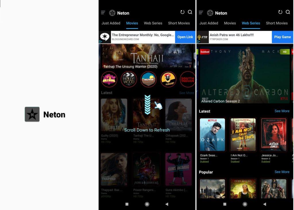 Neton Apk Download - Watch Movies, Netflix | MovieShot Apk Close [2020]