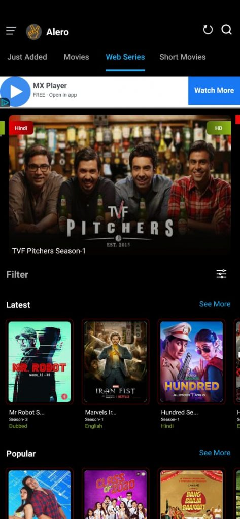 Alero v2.0 Apk Download for Android - Watch Movies, Netflix [2020]