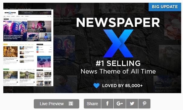 Newspaper 10.3.4 - WordPress Theme Download [2020]