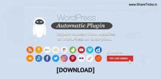 WordPress Automatic Plugin v3.50.7 Free Download [2020]