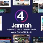 Jannah 4.1.1 WordPress Original Theme Free Download [2020]