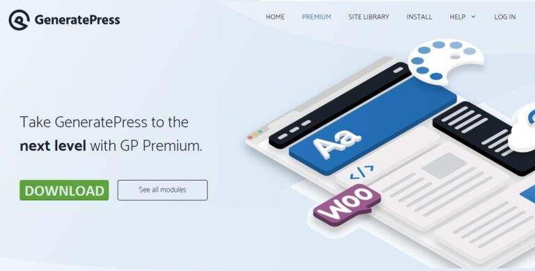 GeneratePress Premium v1.11.3 Stable Free Download [2020]