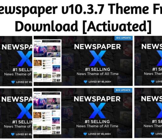 Newspaper v10.3.7 Theme Free Download [2020]