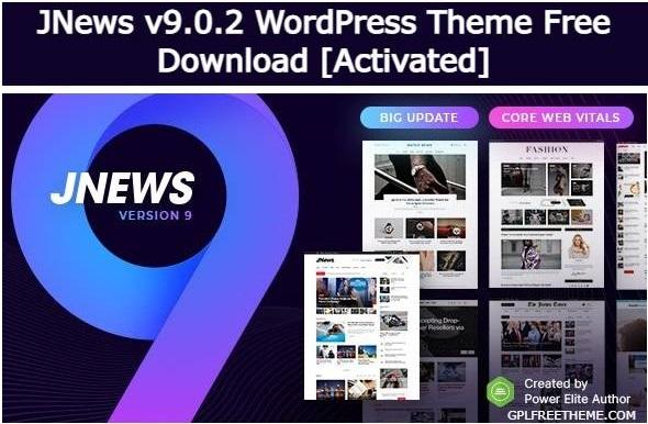 JNews v9.0.2 - WordPress Theme Free Download [Activated]