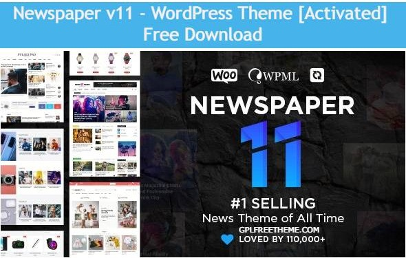 Newspaper v11 WordPress Theme Free Download [Activated]
