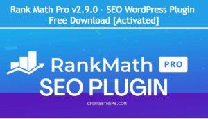Rank Math Pro v2.9.0 - WordPress Plugin Free Download [Activated]