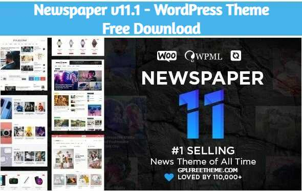 Newspaper v11.1 - WordPress Theme Free Download [Activated]